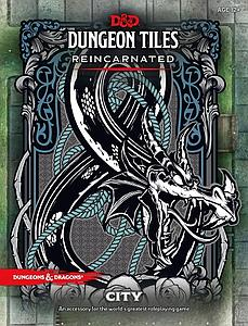 Dungeons & Dragons Roleplaying Game Tiles Reincarnated: The City