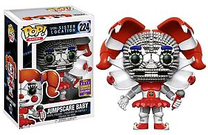 Pop! Games Five Nights at Freddy's Sister Location Vinyl Figure Jumpscare Baby #224 2017 Summer Convention Exclusive