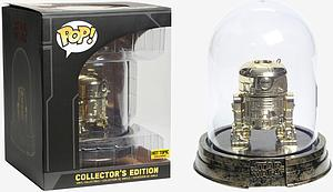 Pop! Star Wars Vinyl Bobble-Head R2-D2 (Gold) (Dome) Collector's Edition Hot Topic Exclusive