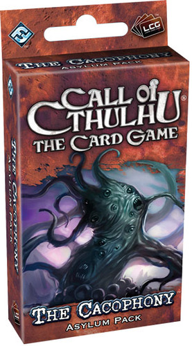 Call of Cthulhu: The Card Game - The Cacophony Asylum Expansion Pack