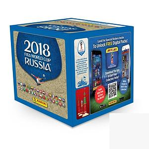 2018 World Cup Soccer - Sticker Box