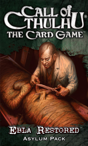 Call of Cthulhu: The Card Game - Ebla Restored Expansion