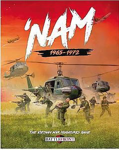 BattleFront 'NAM: The Vietnam War Miniatures Game Book
