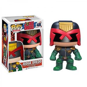 Pop! Heroes DC Judge Dredd Vinyl Figure Judge Dredd #48 (Vaulted)