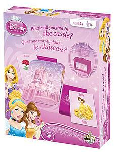Disney Princess What Will You Find in The Castle Edition (Bilingual) Bonus Storage Box