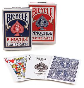 Playing Cards: Pinochle (Colors May Vary)