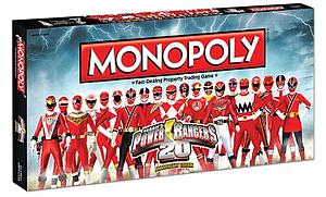 Monopoly: Power Rangers 20th Anniversary Edition Game