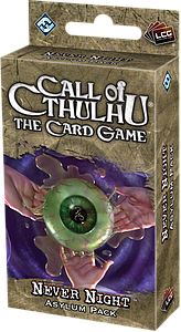 Call of Cthulhu: The Card Game - Never Night Asylum Pack