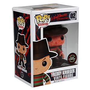 Pop! Movies A Nightmare on Elm Street Vinyl Figure Freddy Krueger #02 Chase (Glows in the Dark)