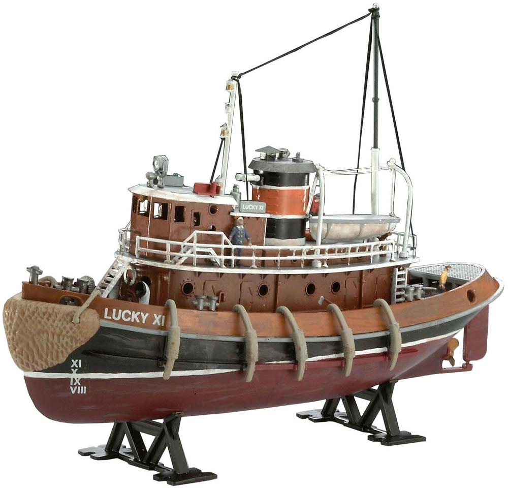 Revell 1:108 Scale Ship Plastic Model Kit Harbour Tug Boat (REV05207)