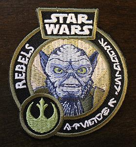 Pop! Patches Star Wars Rebels Zeb Patch Smuggler's Bounty Exclusive