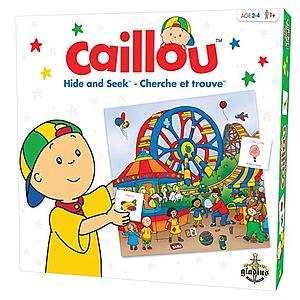 Caillou Hide and Seek (Bi-Lingual)