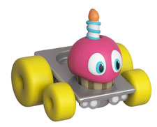 Super Racers Die Cast Vehicle Five Nights at Freddy's - Cupcake #03