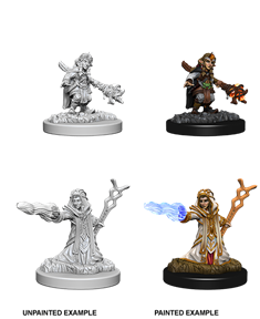 Dungeons & Dragons Nolzur's Marvelous Unpainted Miniatures: Female Gnome Wizard