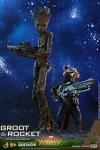 Rocket Raccoon & Groot (MMS476)
