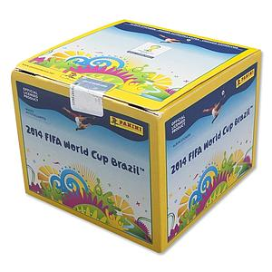 2014 Panini FIFA World Cup Brazil Sticker Box