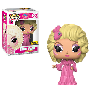 Pop! Drag Queens Vinyl Figure Trixie Mattel #03 Hot Topic Exclusive