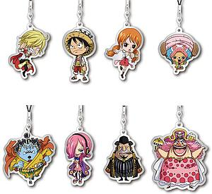 One Piece - Metal Charm Strap Hall Cake Island (Assorted)