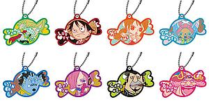 One Piece - Rubber Mascot Strap Hall Cake Island (Assorted)