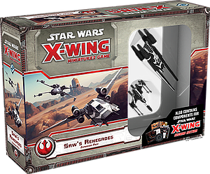 Star Wars: X-Wing Miniatures Game - Saw's Renegades Expansion Pack