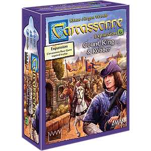 Carcassonne: Expansion 6 - Count, King & Robber