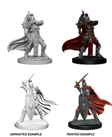 Pathfinder Deep Cuts Unpainted Miniatures: Female Knights/Gray Maidens