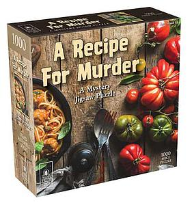 Mystery Jigsaw Puzzle: A Recipe For Murder