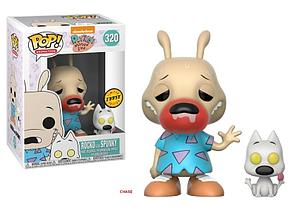 Pop! Animation Rocko's Modern Life Vinyl Figure Rocko with Spunky #320 (Chase)