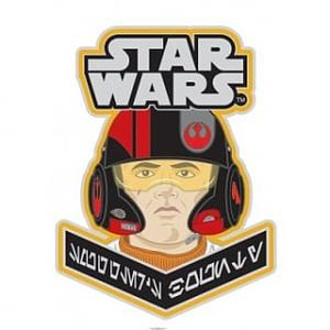 Pop! Pins Star Wars Poe Dameron Pin Smuggler's Bounty Exclusive