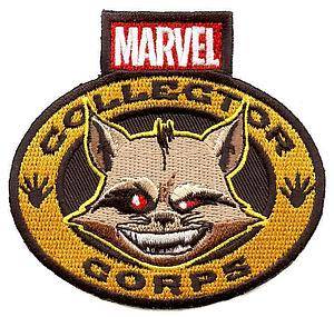 Pop! Patches Rocket Raccoon Patch Marvel Collector Corps Exclusive