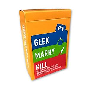 Blank Marry Kill - Geek Marry Kill Expansion