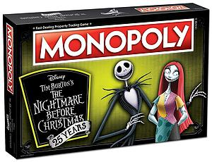 Monopoly: Nightmare Before Christmas 25th Anniversary