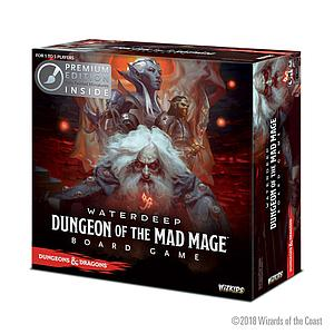 Dungeons & Dragons Waterdeep: Dungeon of the Mad Mage Adventure System Board Game Premium Edition