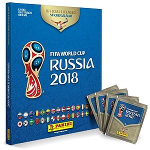 2018 World Cup Soccer - Hardcover Sticker Album