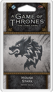 A Game of Thrones: The Card Game (Second Edition) – House Stark Intro Deck