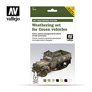 Weathering Set for Green Vehicles