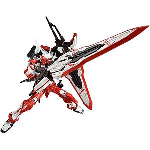 Gundam Master Grade Gundam Seed 1/100 Scale Model Kit: MBF-02VV Gundam Astray Turn Red