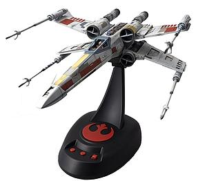 Star Wars 1/48 Scale Model Kit: X-Wing Starfighter (Moving Edition)