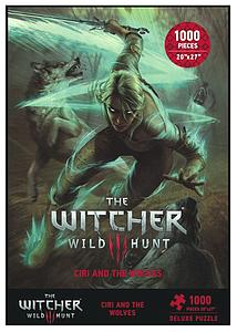 Puzzle: The Witcher 3 Wild Hunt - Ciri and The Wolves