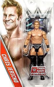WWE Then Now Forever Action Figure Chris Jericho (With Sign)
