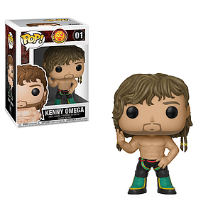 Pop! Wrestling Bullet Club Vinyl Figure Kenny Omega #01