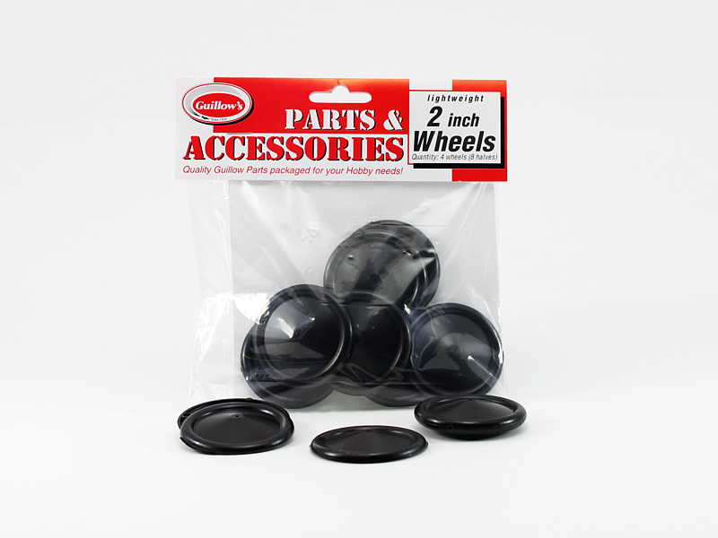 "2"" Plastic Half Wheels (116)"