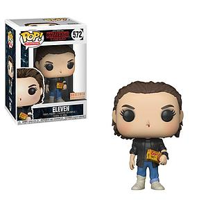 Pop! Television Stranger Things Vinyl Figure Eleven (Punk) #572 BoxLunch Exclusive