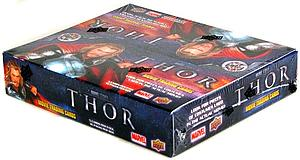 Marvel Upper Deck Thor Movie Trading Cards: Box