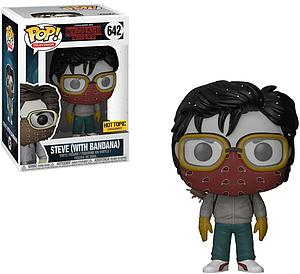 Pop! Television Stranger Things Vinyl Figure Steve with Bandana #642 Hot Topic Exclusive