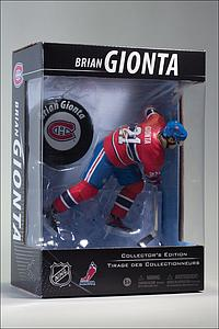 NHL Sportspicks Canadian Tire Series Brian Gionta with Puck (Montreal Canadiens) Red Jersey Exclusive