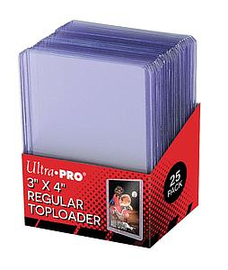 "3"" x 4"" Clear Regular Toploader"