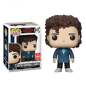 Pop! Television Stranger Things Vinyl Figure Dustin (Snowball Dance) #617 2018 Summer Convention Exclusive