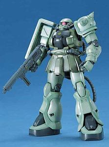 Gundam Master Grade 1/100 Scale Model Kit: MS-06F-2 ZAKU II Type F2