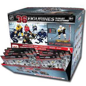 "NHL 2.5"" Figure Blind Box: Display (20 Packs)"